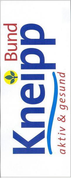 Hissflagge mit Kneipp-Bund-Logo