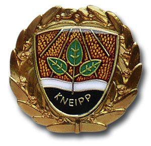 """Brosche """"Gold mit Kranz"""" 50 Jahre Mitgliedschaft"""