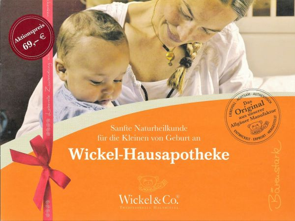Wickel-Hausapotheke - Geschenkpaket