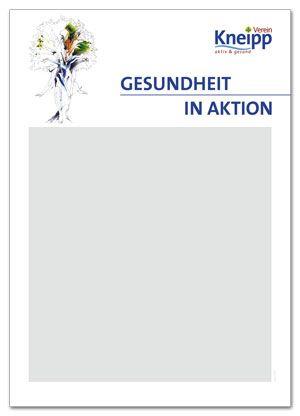 """Plakatvordruck """"Gesundheit in Aktion"""""""
