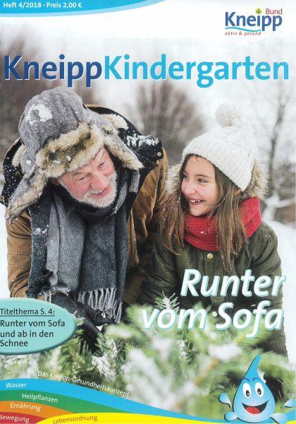 "Kneipp-Kindergarten ""Runter vom Sofa"""