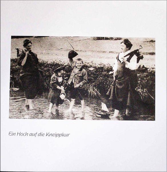 """Historisches Plakat """"Wassertreten"""""""