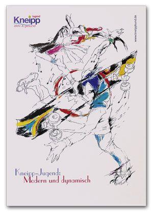 """Plakat """"Kneipp-Jugend"""""""