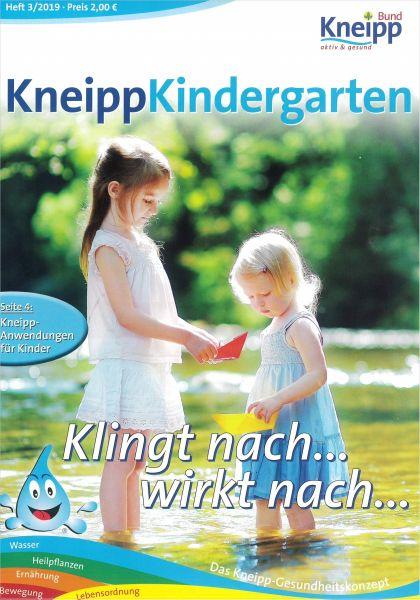 """Kneipp-Kindergarten """"Klingt nach ... wirkt nach ..."""""""