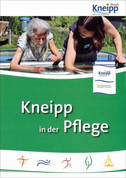 "Faltblatt ""Kneipp in der Pflege"""