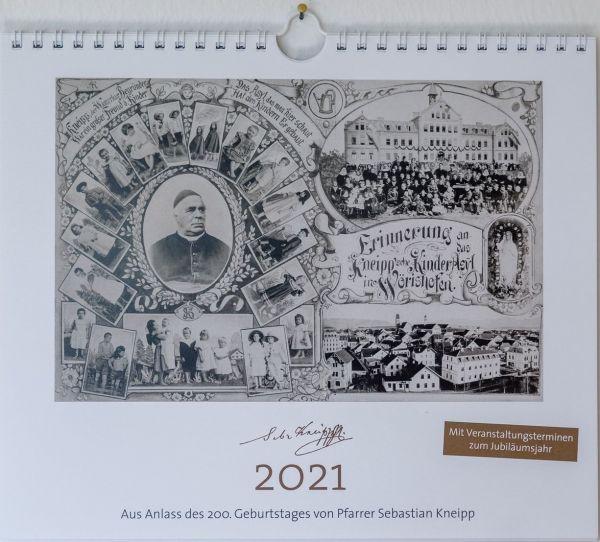 Wandkalender - historischer Bilderkalender 2021