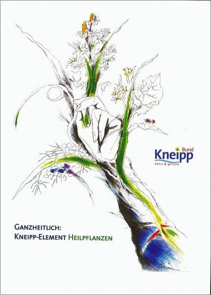 "Plakat ""Heilpflanzen"" modern"
