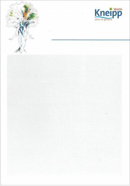 Plakatvordruck blanco