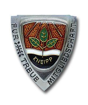 """Brosche """"Silber"""" 25 Jahre Mitgliedschaft"""