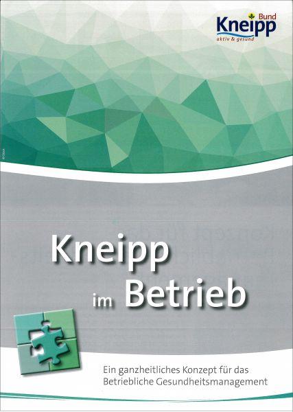 "Faltblatt ""Kneipp im Betrieb"""