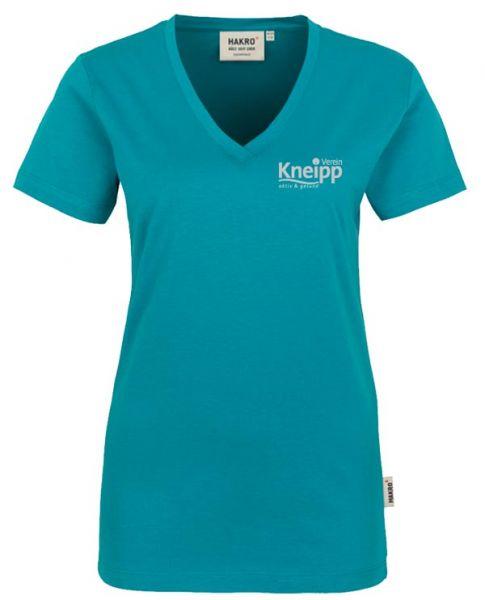 """Damen-T-Shirt mit Logo """"Kneipp-Verein"""""""