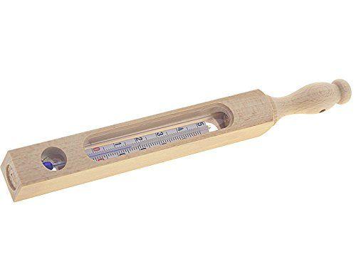 Badethermometer Holz