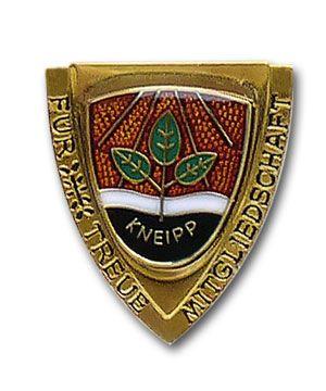 """Brosche """"Gold"""" 40 Jahre Mitgliedschaft"""