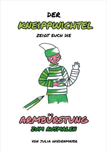 """Malbuch """"Trockenbürsten des Arms"""""""