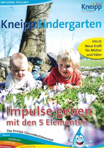 """Kneipp-Kindergarten """"Impulse geben mit den 5 Elementen"""""""