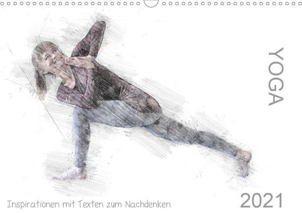 Wandkalender - Yoga Inspirationen 2021