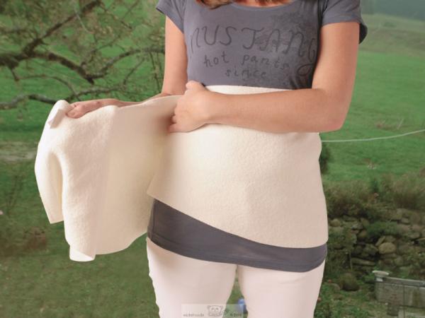 Woll-fühl® Bauch- und Rückenwickel