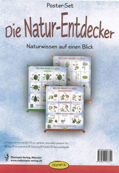 Poster-Set – Die Natur-Entdecker