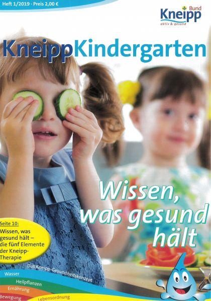 """Kneipp-Kindergarten """"Wissen, was gesund hält"""""""