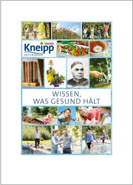 """Plakat """"Wissen was gesund macht"""""""