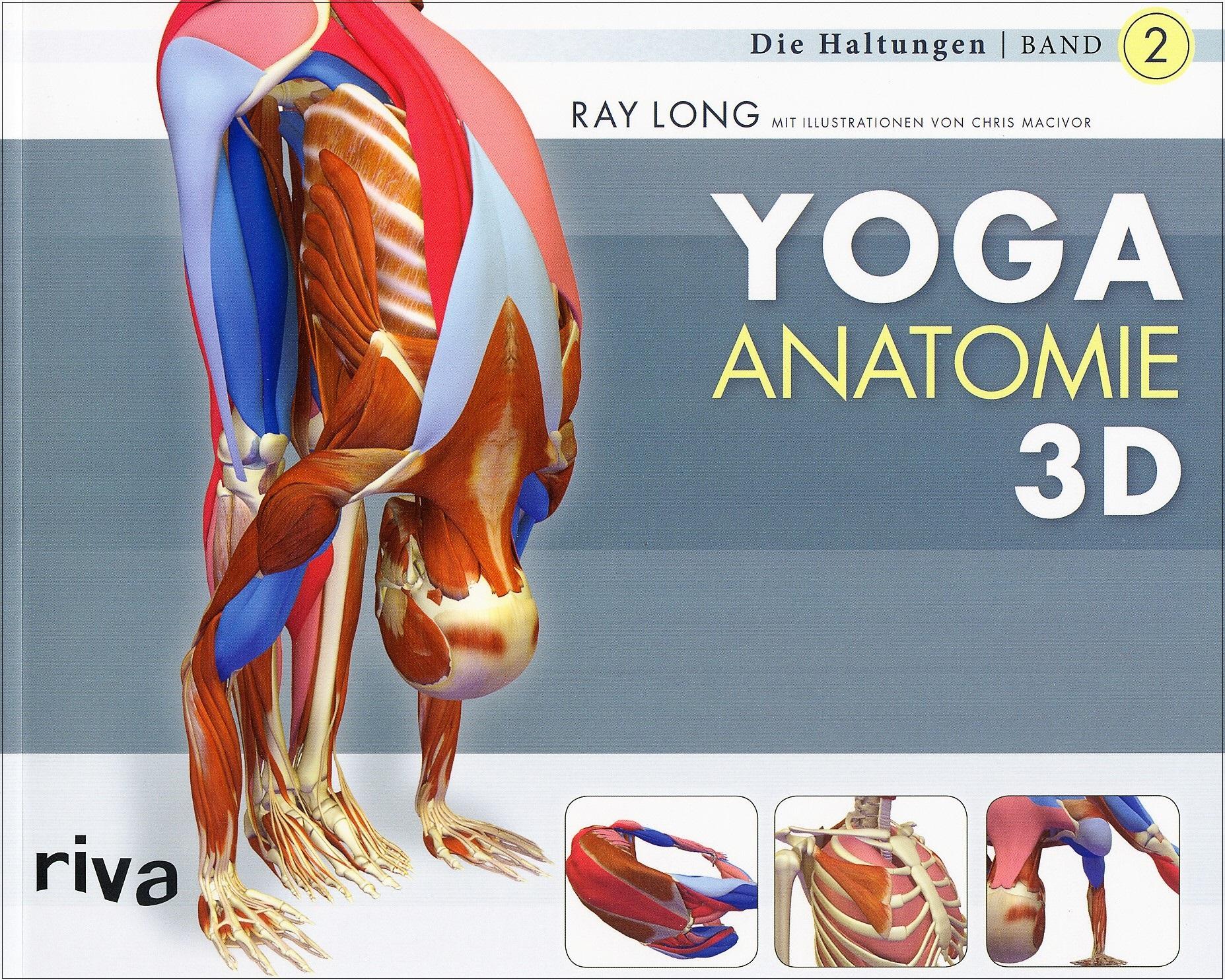 Yoga Anatomie 3D - Die Haltungen   Yoga   Buchempfehlungen für ...