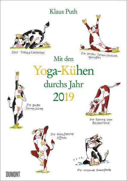 Mit den Yoga-Kühen durchs Jahr 2019