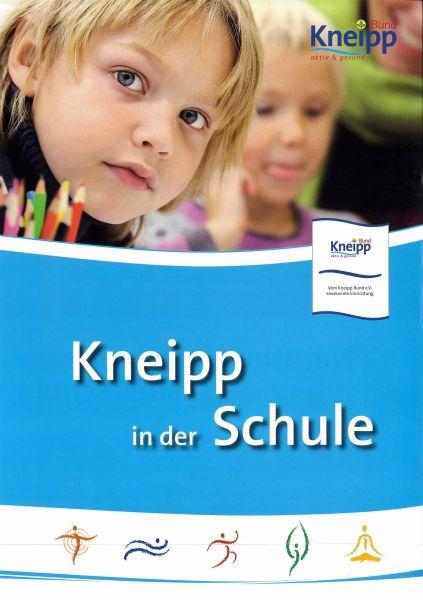 "Faltblatt ""Kneipp in der Schule"""