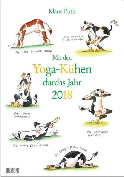 Mit den Yoga-Kühen durchs Jahr 2018