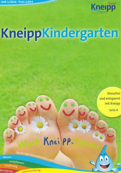 "Kneipp-Kindergarten ""Work-Kneipp-Balance"""